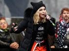 Famosos participam de marcha pelas mulheres nos Estados Unidos