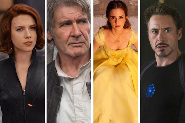 Os maiores campeões de bilheteria de Hollywood (Foto: Reprodução)