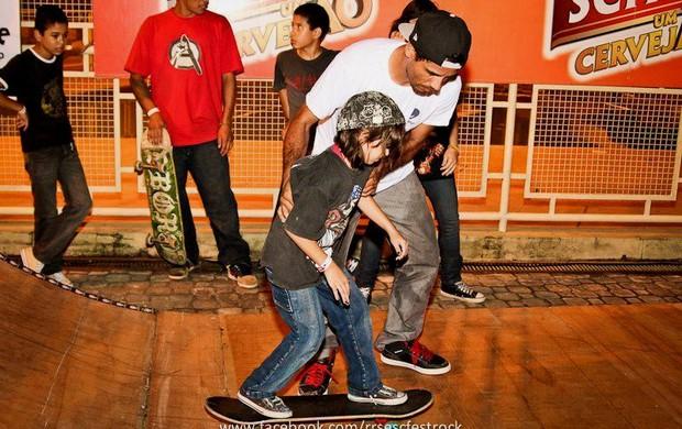 O skatista Marcelo Come Rato é um dos convidados para o 1° Desafio de Ladeiras (Foto: Divulgação/GLOBOESPORTE.COM)
