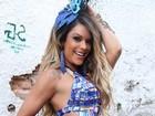 Denise Dias adota dieta da couve para o carnaval: 'É bem radical'
