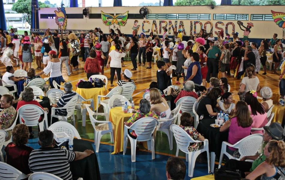 Cerca de 1500 pessoas participaram (Foto: Mônica Dias/G1)