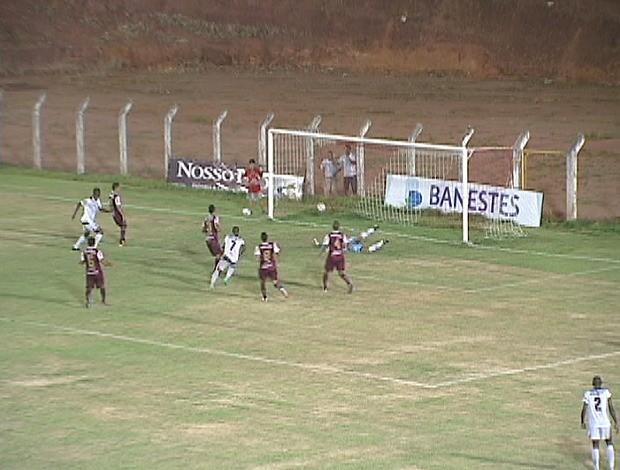Aracruz x Desportiva (Foto: Reprodução/TV Gazeta)