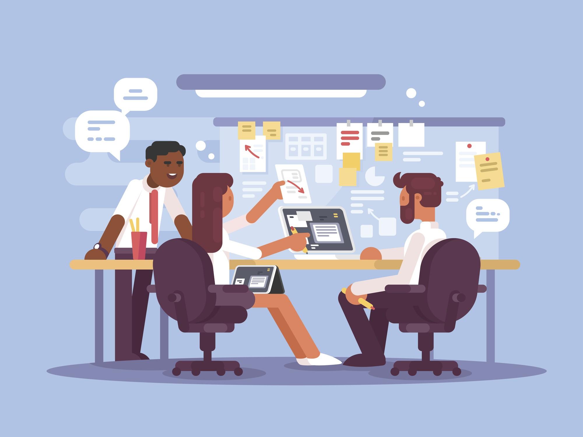 reunião de negócios; profissionais; executivos; empresa (Foto: Thinkstock)
