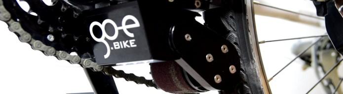 Go-e ONwheel, motor que transforma bicicletas comuns em e-bikes (Foto: Divulgação)