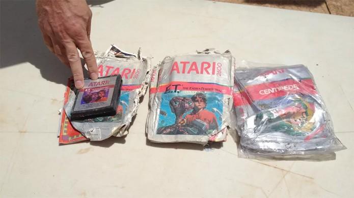 E.T. do Atari 2600 acabou não voltando para casa (Foto: Reprodução/Polygon)
