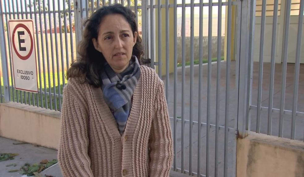 Regina conta que o cão era companheiro do pai e os dois sempre passavam pelo local onde ocorreu o ataque (Foto: Reprodução / TV TEM )