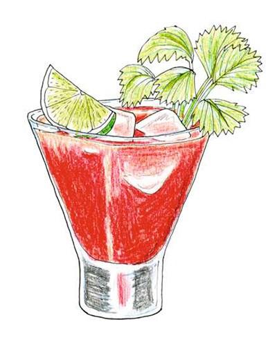 Bloody Mary (Foto: Ilustrações Daniel Almeida)