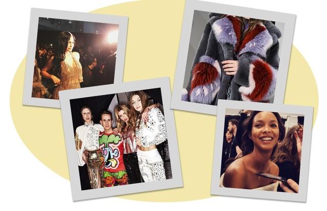 NYFW inverno 2018: os melhores cliques do Instagram do dia 2 (Foto: Reprodução/Instagram)