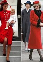 Kate Middleton reedita look de Diana durante visita a Nova Zelândia