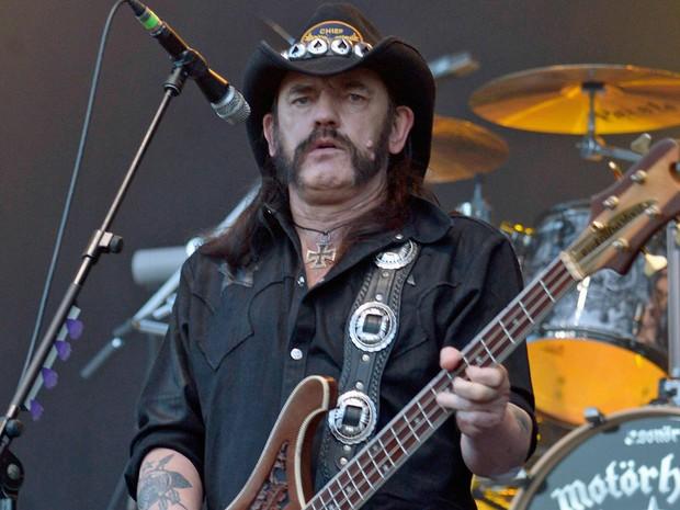 Lemmy Kilmister, líder do Motörhead (Foto: Fabian Bimmer/Reuters)