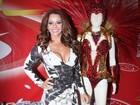 Viviane Araújo: 'Não senti preconceito dos outros atores'