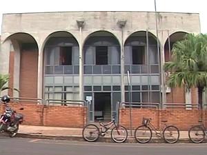 Câmara Municipal Campina Verde (Foto: Reprodução/TV Integração)