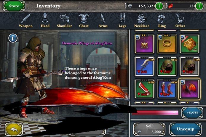 Jogo de ação e RPG com combates incríveis no iOS (Foto: Divulgação)