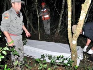 Corpo do menino foi encontrado em Frederico Westphalen (Foto: André B. Piovesan/Folha do Noroeste)