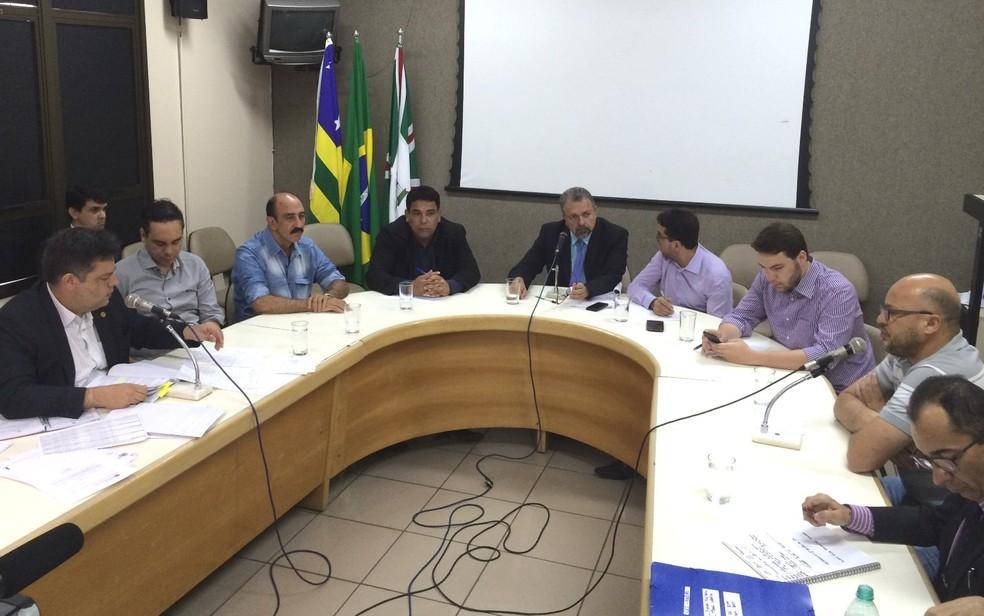 Comissão Especial de Inquérito ouve o ex-gerente administrativo da SMT Alexandre da Silva Kruk (Foto: Vitor Santana/ G1)