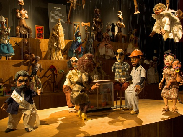 Teatro de bonecos Giramundo realiza temporada no Recife (Foto: Divulgação)