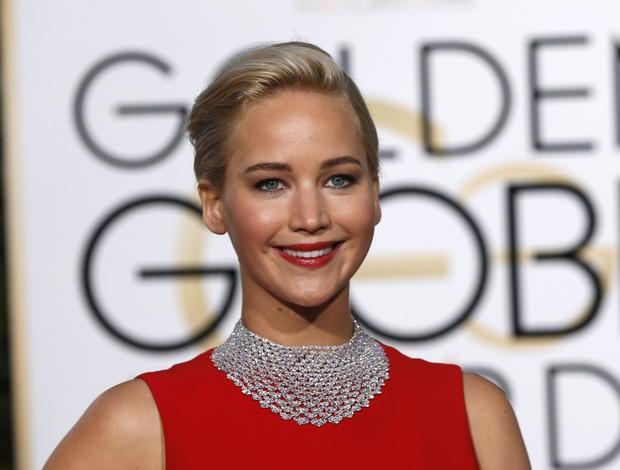 Jennifer Lawrence em premiação em Los Angeles, nos Estados Unidos (Foto: Mario Anzuoni/ Reuters)