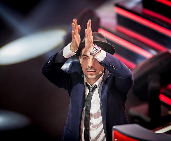 Di Ferrero pedindo palmas pra plateia... #CoisaLinda!!! (Foto: Isabella Pinheiro / Gshow)