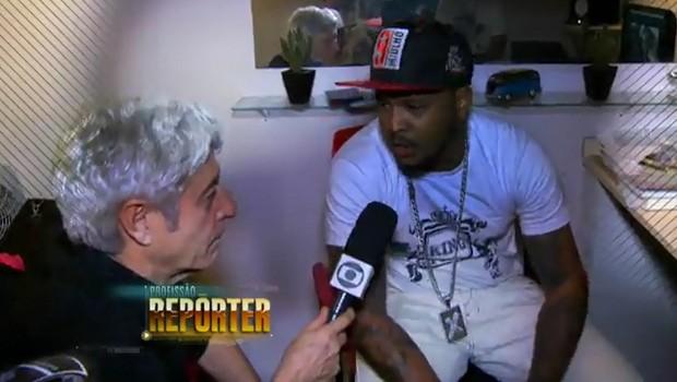 É amanhã: Profissão Repórter mostra a evolução do rap desde que chegou ao país (TV Globo)