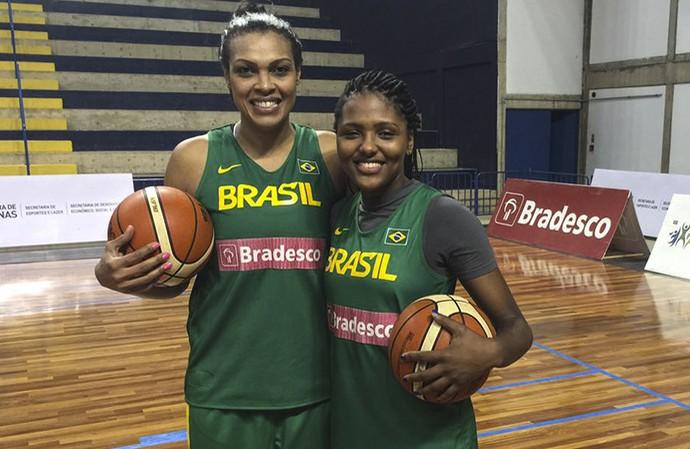 Kelly Santos e Isabela Ramona  experiência e juventude na liderança da seleção  brasileira de basquete 6861c81770abc