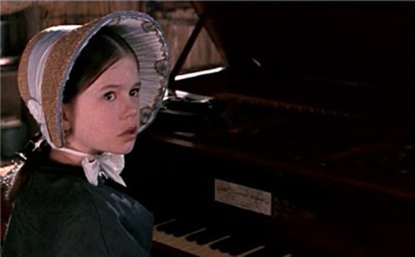Anna Paquin em 'O Piano' (1993) (Foto: Divulgação)