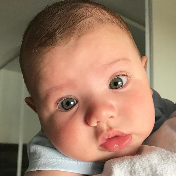 Gabriel, filho de Gusttavo Lima e Andressa Suita (Foto: Reprodução/Instagram)