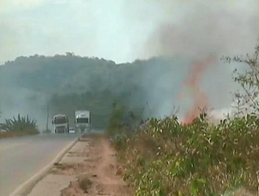 Com o ínicio das secas as ocorrências aumentam (Foto: Bom dia Amazônia)