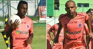Alexandre Acerola e Sharlei, atacantes da Desportiva Ferroviária (Foto: Henrique Montovanelli/Desportiva Ferroviária)