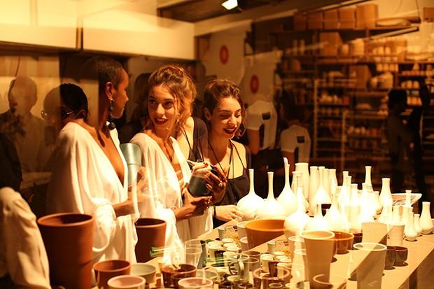 Lançamento da Casa Vogue de agosto em Belo Horizonte tem arte e design (Foto: Renata Melo)