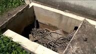 Estações de tratamento de esgoto do Saae são alvo de furto e vandalismo