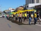 Cidades da região aderem às manifestações contra o governo