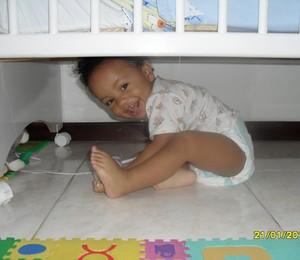 Caio bebê - famílias inspiradoras (Foto: Arquivo pessoal)