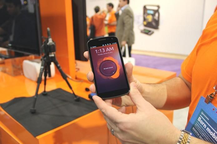 Ubuntu equipará seu primeiro smartphone comercial ainda em 2014, garante Canonical (Fabrício Vitorino/TechTudo)  (Foto: Ubuntu equipará seu primeiro smartphone comercial ainda em 2014, garante Canonical (Fabrício Vitorino/TechTudo) )