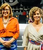 Denise Assumpção e Leila Leme