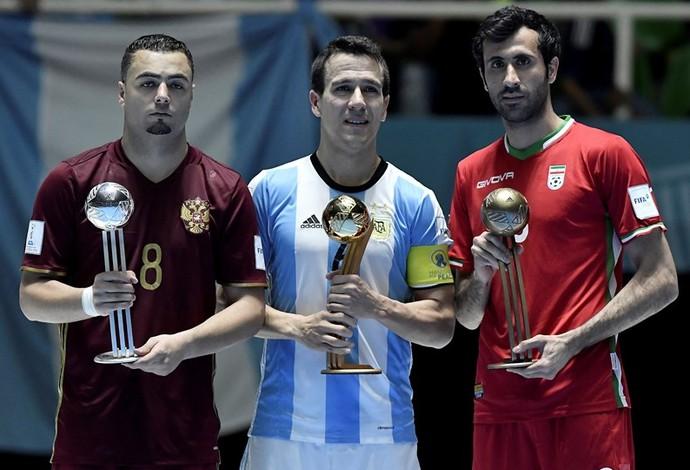 Fernando Wilhelm Argentina Bola de Ouro mundial de futsal (Foto: Getty Images/Fifa)