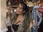 Neymar curte festa junina com Thiaguinho e posta foto: 'Caipiras, uai'