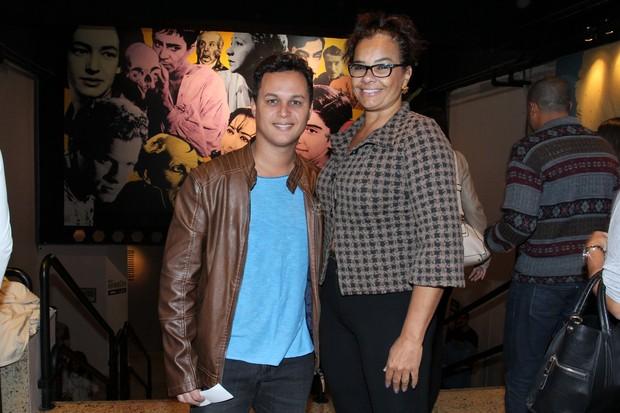 Solange Couto e o marido Jamerson (Foto: Alex Palarea/Ag News)