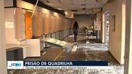 Jovens são presos suspeitos de explosão de banco em Goiás