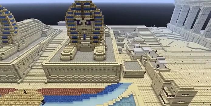 Projeto da Microsoft busca reunir informações sobre o uso do jogo dentro da sala de aula (Foto: Reprodução/Minecraft in Education)