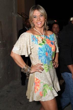 Carla Perez em show na Zona Oeste do Rio (Foto: Anderson Borde/ Ag. News)