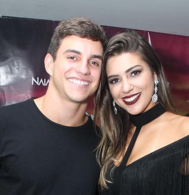 Manoel Rafaski e Vivian Amorim (Foto: Marcello Sá Barretto/AgNews)