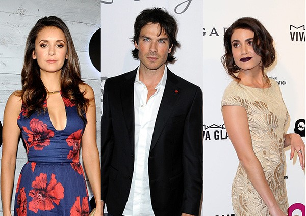 Nina Dobrev, Ian Somerhalder, Nikki Reed (Foto: Getty Images)