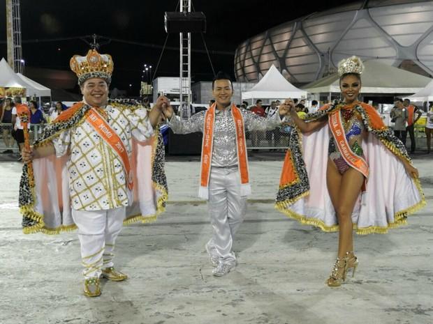 Sem Compromisso levou história das feiras para a avenida (Foto: Adneison Severiano/G1 AM)