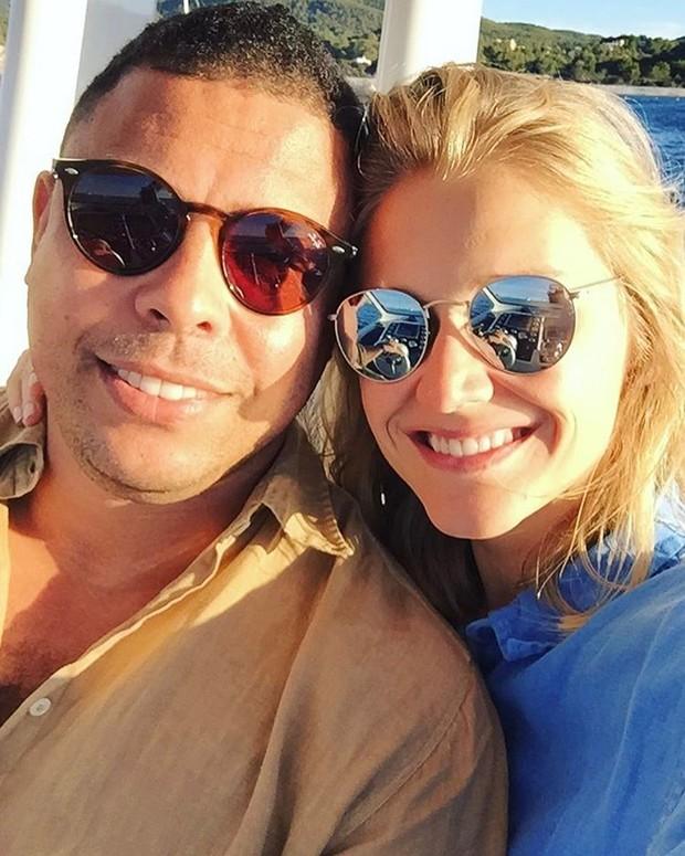 Ronaldo e Celina Locks (Foto: Reprodução / Instagram)