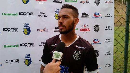 Anderson vê evolução do Rio Branco-ES e destaca a preparação física