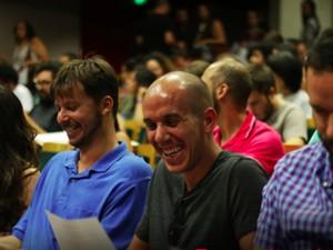Teste de Audiência da Caixa Cultural (Foto: Divulgação)
