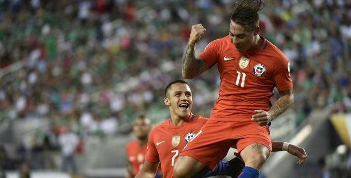 Vargas Chile México Copa América (Foto: AFP)