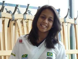 Judoca Layana Colman, do Clube Rocha (Foto: Divulgação/FJMS)