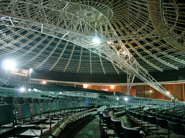 Auditório Araújo Vianna é reaberto nesta quinta-feira após sete anos em reformas (Foto: Francielle Caetano/PMPA)