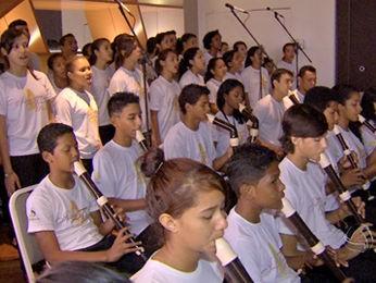 Grupo Flauta Mágica, de Cuiabá, vai se apresentar em três países europeus. (Foto: Reprodução/ TVCA)